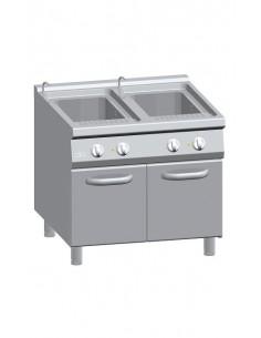 Cuocipasta elettrico 2 vasche lt 40 + 40 Serie 900