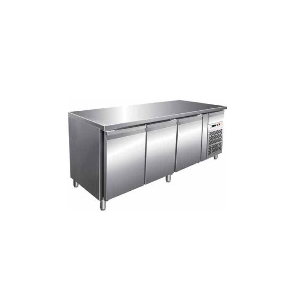 Tavolo refrigerato 3 sportelli ventilato 1/1 -18 -22°C